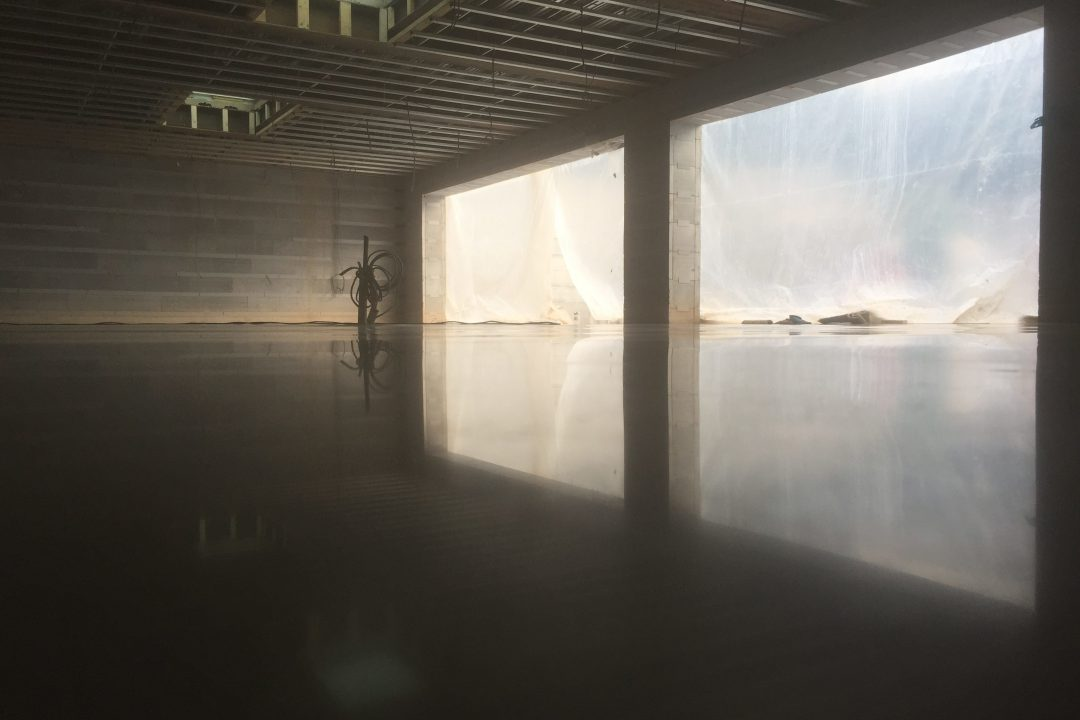 refined polished concrete foors