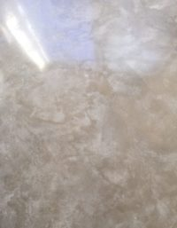 cream style polished concrete