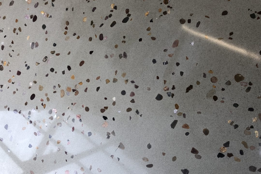 Bespoke 20mm aggregate floor (2)