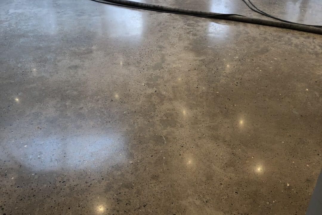 repaired floor